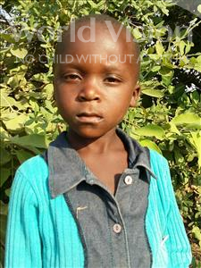 Choose a child to sponsor, like this little boy from Keembe, Edward age 6