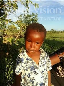 Choose a child to sponsor, like this little boy from Keembe, Award age 3