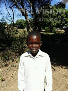 Choose a child to sponsor, like this little boy from Keembe, Ruben age 8