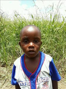 Choose a child to sponsor, like this little boy from Keembe, Fredrick age 3