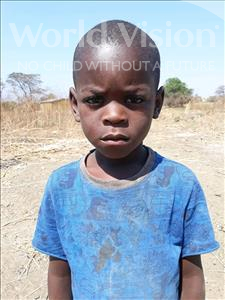 Choose a child to sponsor, like this little boy from Keembe, Dickson age 5