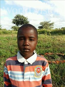 Choose a child to sponsor, like this little boy from Keembe, Patrick age 8