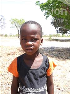 Choose a child to sponsor, like this little boy from Keembe, Block age 3