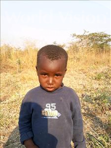 Choose a child to sponsor, like this little boy from Keembe, Jones age 3