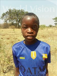 Choose a child to sponsor, like this little boy from Keembe, Godfrey age 11