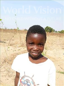 Choose a child to sponsor, like this little boy from Keembe, Nelson age 7