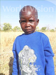 Choose a child to sponsor, like this little boy from Keembe, Ssmson age 4