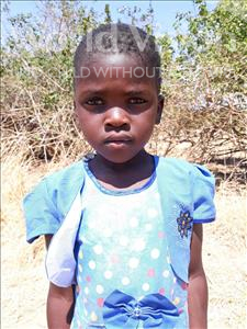 Choose a child to sponsor, like this little girl from Keembe, Busiku age 5