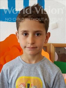 Choose a child to sponsor, like this little boy from Shkodra, Alvaro age 10