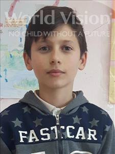 Choose a child to sponsor, like this little boy from Shkodra, Emanuel age 12