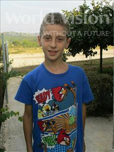 Choose a child to sponsor, like this little boy from Shkodra, Marsildo age 10