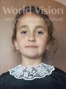 Choose a child to sponsor, like this little girl from Shkodra, Artuela age 9