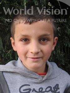 Choose a child to sponsor, like this little boy from Shkodra, David age 11