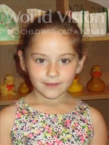 Choose a child to sponsor, like this little girl from Shkodra, Matilda age 6