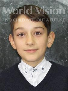 Choose a child to sponsor, like this little boy from Shkodra, Kleon age 12