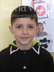 Choose a child to sponsor, like this little boy from Shkodra, Alberto age 9