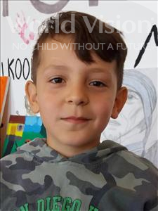 Choose a child to sponsor, like this little boy from Shkodra, Denis age 8