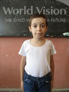 Choose a child to sponsor, like this little girl from Shkodra, Xhoena age 8