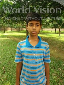 Choose a child to sponsor, like this little boy from Ghoraghat, Uchash age 13