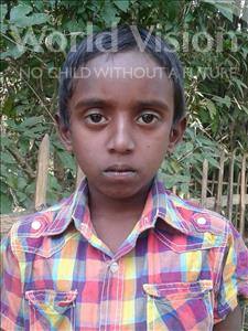 Choose a child to sponsor, like this little boy from Ghoraghat, Ashik age 9