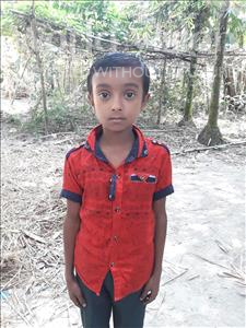 Choose a child to sponsor, like this little boy from Ghoraghat, Siam age 10
