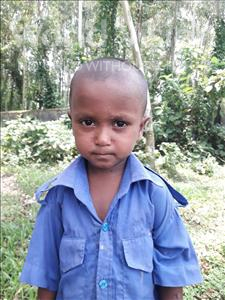 Choose a child to sponsor, like this little boy from Ghoraghat, Momtazur Shahib age 4