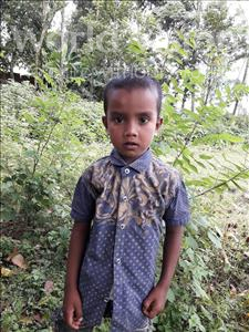 Choose a child to sponsor, like this little boy from Ghoraghat, Riyad Hasan age 5