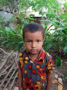Choose a child to sponsor, like this little boy from Ghoraghat, Alhadi age 2