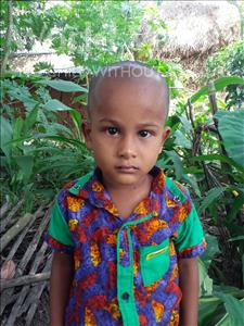 Choose a child to sponsor, like this little boy from Ghoraghat, Abdur age 3