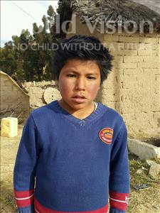 Choose a child to sponsor, like this little boy from Mosoj Punchay, Wilson age 8