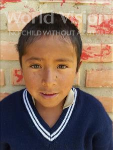 Choose a child to sponsor, like this little boy from Mosoj Punchay, Williams age 9