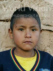 Choose a child to sponsor, like this little boy from Mosoj Punchay, Limber age 9