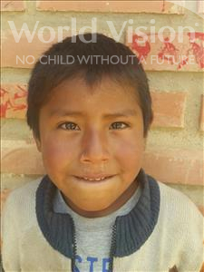 Choose a child to sponsor, like this little boy from Mosoj Punchay, Juan Jose age 5