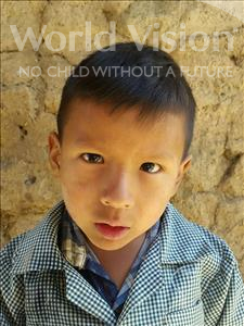 Choose a child to sponsor, like this little boy from Mosoj Punchay, Jhon Erick age 5