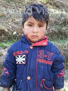 Choose a child to sponsor, like this little boy from Mosoj Punchay, Armando age 3
