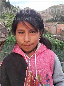 Choose a child to sponsor, like this little girl from Khantati, Roxana age 9