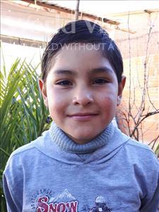 Choose a child to sponsor, like this little boy from Khantati, Waldo age 10