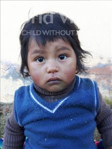 Choose a child to sponsor, like this little boy from Khantati, Alex age 3