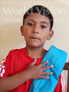 Choose a child to sponsor, like this little boy from Khantati, Gary Cesar age 7