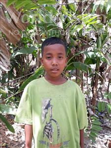 Choose a child to sponsor, like this little boy from Soutr Nikom, No age 11