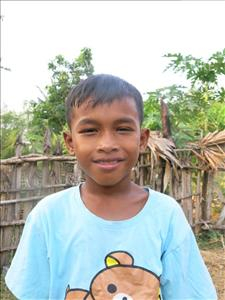 Choose a child to sponsor, like this little boy from Soutr Nikom, Rattana age 10