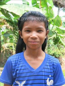 Choose a child to sponsor, like this little girl from Soutr Nikom, Sa Em age 12