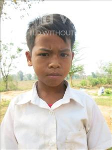 Socheat, aged 11, from Cambodia, is hoping for a World Vision sponsor