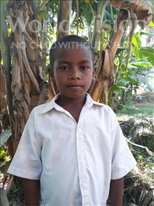 Choose a child to sponsor, like this little boy from Soutr Nikom, Lek age 8