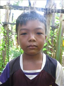 Choose a child to sponsor, like this little boy from Soutr Nikom, Sothea age 9