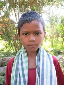 Choose a child to sponsor, like this little boy from Soutr Nikom, Ngoeurm age 9