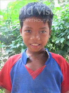 Choose a child to sponsor, like this little boy from Soutr Nikom, Neth age 9