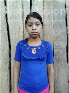 Choose a child to sponsor, like this little girl from Maya, Silvia Haicely age 13