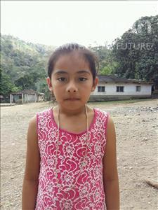 Sulma Yatzari, aged 9, from Honduras, is hoping for a World Vision sponsor