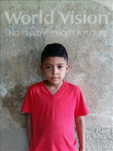 Choose a child to sponsor, like this little boy from Maya, Cristian Alejandro age 7